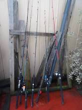 Fishing Rods abd Reels Assorted Latrobe Latrobe Area Preview