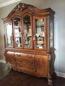 Executive China Cabinet from Michaael Amini Signature Series
