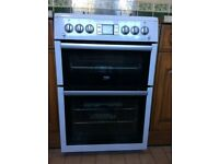 Double Oven Beko Gas Cooker