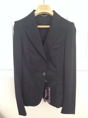 Brand new Authentic GUCCI Women's Jacket/Blazer brown ,GUCCI Size 40 IT (4 US)