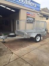 7x5 GALVANISED Braked  Cage  Trailer  ON SALE Para Hills Salisbury Area Preview