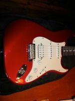 Fender Stratocaster USA candy apple