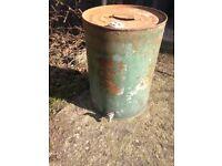 Vintage Valor Drum for Esso Blue Paraffin