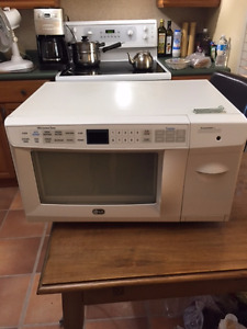 Microwave with toaster