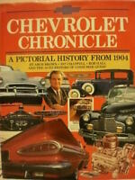 Chevrolet Chronicle: A pictorial history from 1904 (Hardcover)
