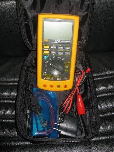 DC Current Source Process Loop Calibrator & True RMS Multimeter 2in1 H787