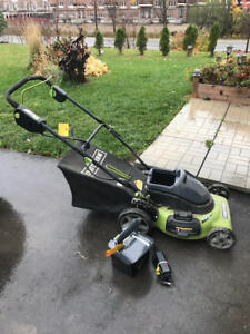 Used Craftsman Battery Powered Lawn Mower
