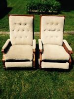 Recliner chairs Fort Erie area