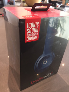 Beats by Dr. Dre Solo 2 On-Ear Headphones - Blue