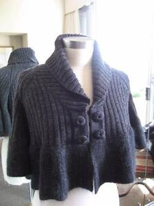 Namette Lepore Marino wool cropped cardigan / top Double Bay Eastern Suburbs Preview