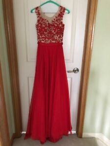 Sherri Hill Gown with Train