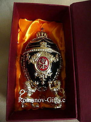 """Russian Imperial Royal Empress FABERGE music box """"Fur Elise"""" Egg & Necklace"""