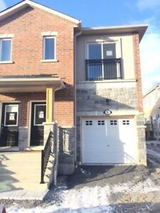 Brand new, end unit freehold Townhouse in the heart of Whitby