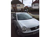 Volkswagen Polo 1.4 litre petrol with low mileage, in great mechanical condition and cheap to insure