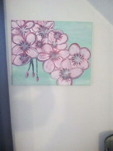 Beautiful, 16x20, Canvas, Hand-Painted, Wall Painting..$15obo