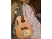 Brand new concert type Baton Rouge Ukulele, tag on in box