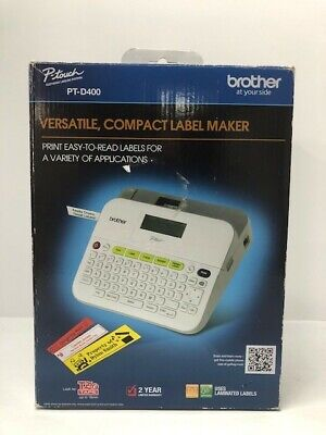 Brother Pt-d400 P Touch Label Maker