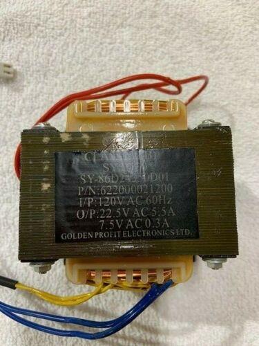 Transformer 622000021200 for GBC Pinnacle 27 EZ Laminator W/Harness as Shown