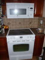 Maytag Microwave and Stove