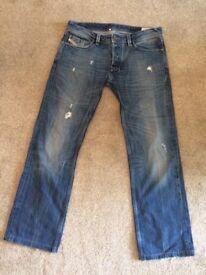 Mens diesel industry jeans