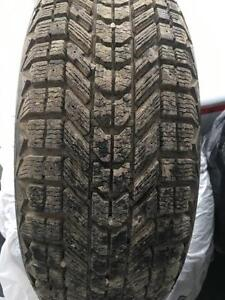 2 sets of tires. Winterforce and Goodyear