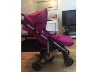 Mamas and Papa's raspberry Luna pushchair excellent condition