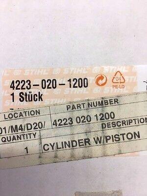 Stihl Part 4223 020 1200 Cylinder With Piston