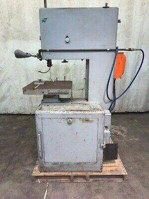 20 Powermatic Vertical Bandsaw Model 87 1.5 Hp 220 V 3 Phase 1735 Rpm