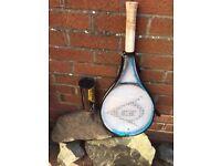 Dunlop Play 27 Adult Racket Tennis & case + 3 balls