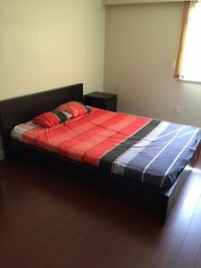 one furnished bedroom apartment available in Richmond