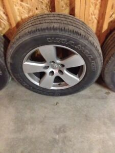 4 dodge ram 1500  rims with goodyear SRA Tires