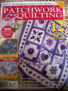 Patchwork Quilting revue Australienne anglais Juillet 2007