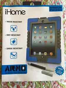 iHome Armo Extreme Rugged Case for iPad 2/3/4 - Blue