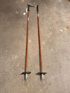 Bamboo Cross Country Ski Poles (3 Pairs)