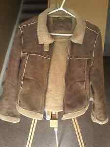 ROXY Sherpa leather jacket London Ontario image 1