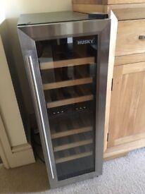 Husky CN215 Dual Zone Slimline Wine Cooler