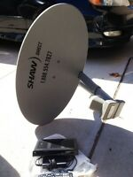 Shaw Satellite Dish & HD Receiver