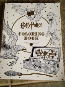 New Harry Potter Coloring Book
