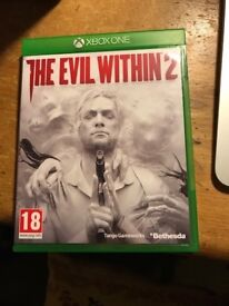 Evil Within 2 (x-box one) Recently purchased so in excellent condition.
