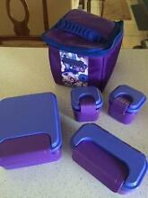 Tupperware lunch box and cooler Clear Mountain Pine Rivers Area Preview