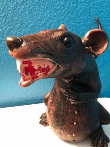 Giant Rubber Rat modified halloween horror prop