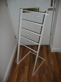 Ikea clothes metal dryer - superb condition - heavy duty - white - must see