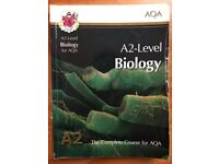 CGP AQA A2-LEVEL BIOLOGY STUDENT BOOK FOR SALE !