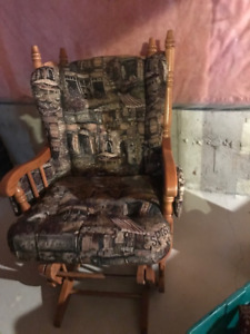 Glider rocker chair - mint condition