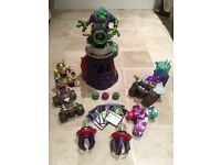 ELC Planet Protectors Dr Tox Slime Cave and extras TOYS