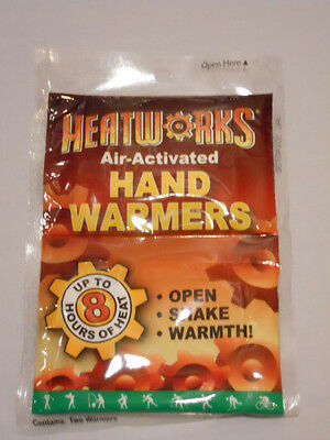 Lot Of 5 Pairs Hand Warmers By Heatworks  Up To 8 Hrs  Heat Camping  Survival