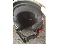 kyon open face motorbike / motorcycle helmet as new xl