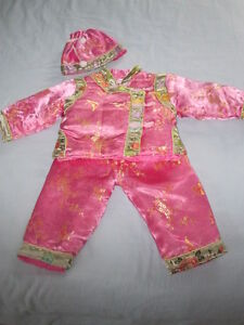 Child's Adorable Oriental Outfit for Halloween