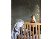 Childrens Cot-bed for sale in Bath, wooden baby cot / kids bed