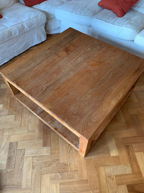 Raft - large reclaimed teak coffee table | in Elstree ...